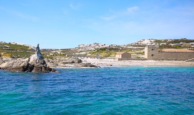 Isla de Sálvora - 20 min. (Embarcar)